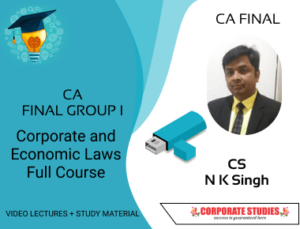 CA Final Corporate and Economic Laws Full Course